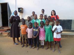 Waisenkinder Gruppenfoto